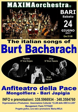 The Italian Songs BURT BACHARACH MAXIMAorchestra 0bacha10