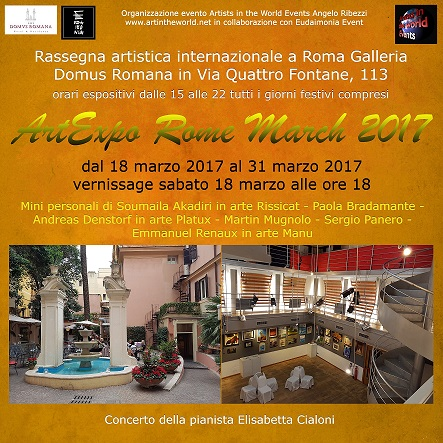 ArtExpo Rome March 2017 Flyer-10