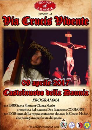VIA CRUCIS VIVENTE - CASTELNUOVO DELLA DAUNIA (FG) Via_cr10