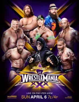 [Divers] Dernière affiche de Wrestlemania XXX 10023810