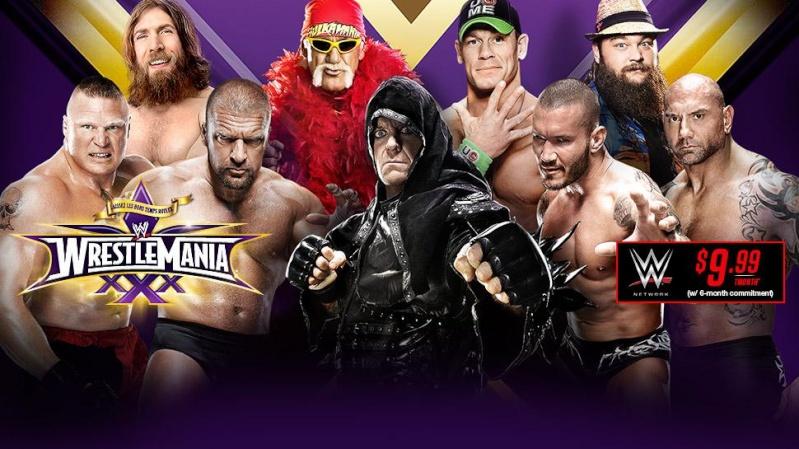 [Divers] Dernière affiche de Wrestlemania XXX 20140220