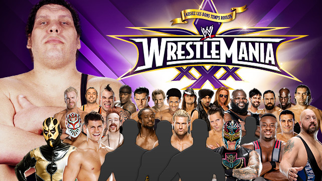 WWE Wrestlemania XXX du 6 avril 2014 20140317