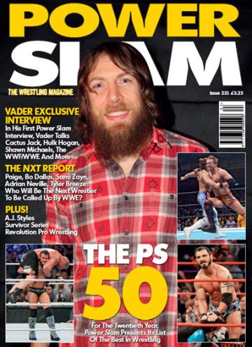 [Divers] Les meilleurs lutteurs 2013 selon Powerslam Cover10