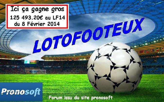 Vos pronos lotofoot
