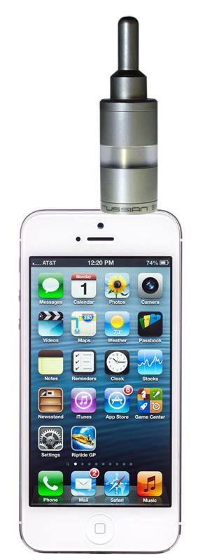 Une nouvelle ecig connectée à son smartphone : la smokio Iphone10