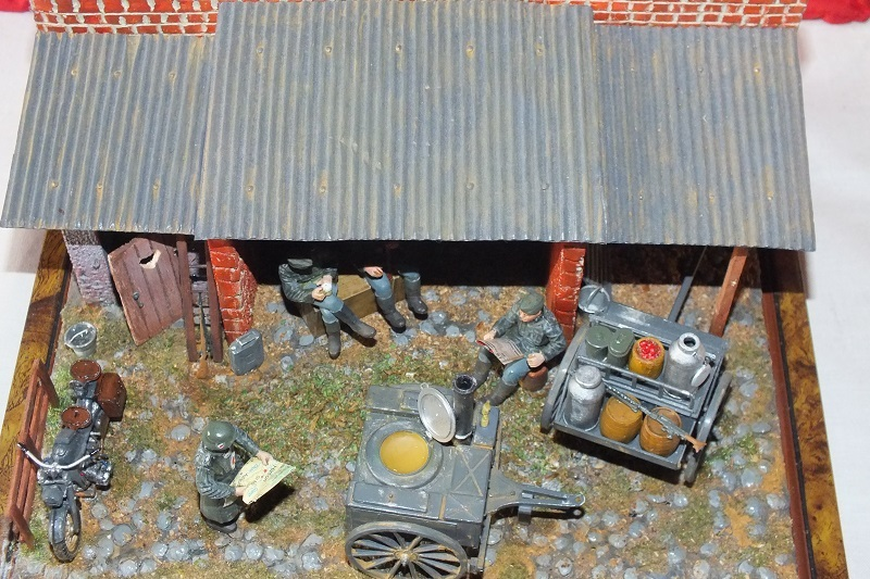 cuisine allemande : GERMAN FIELD KITCHEN  1/35 K10