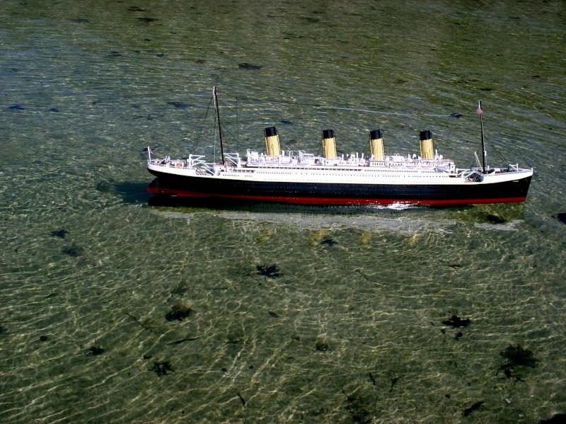 RMS Titanic sur plan   au 1/200 P1010014