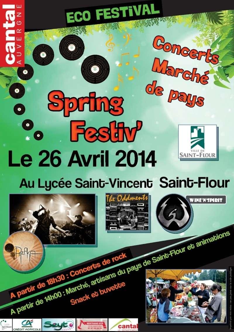 Sorties d'avril 2014 en pays de Saint-Flour ! Spring10