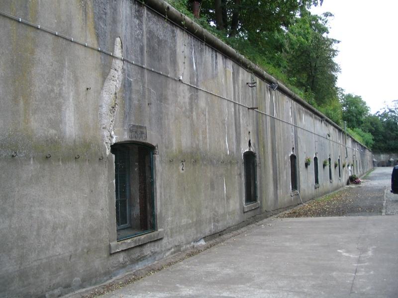 Le Fort de Lantin (PFL) Escarp13