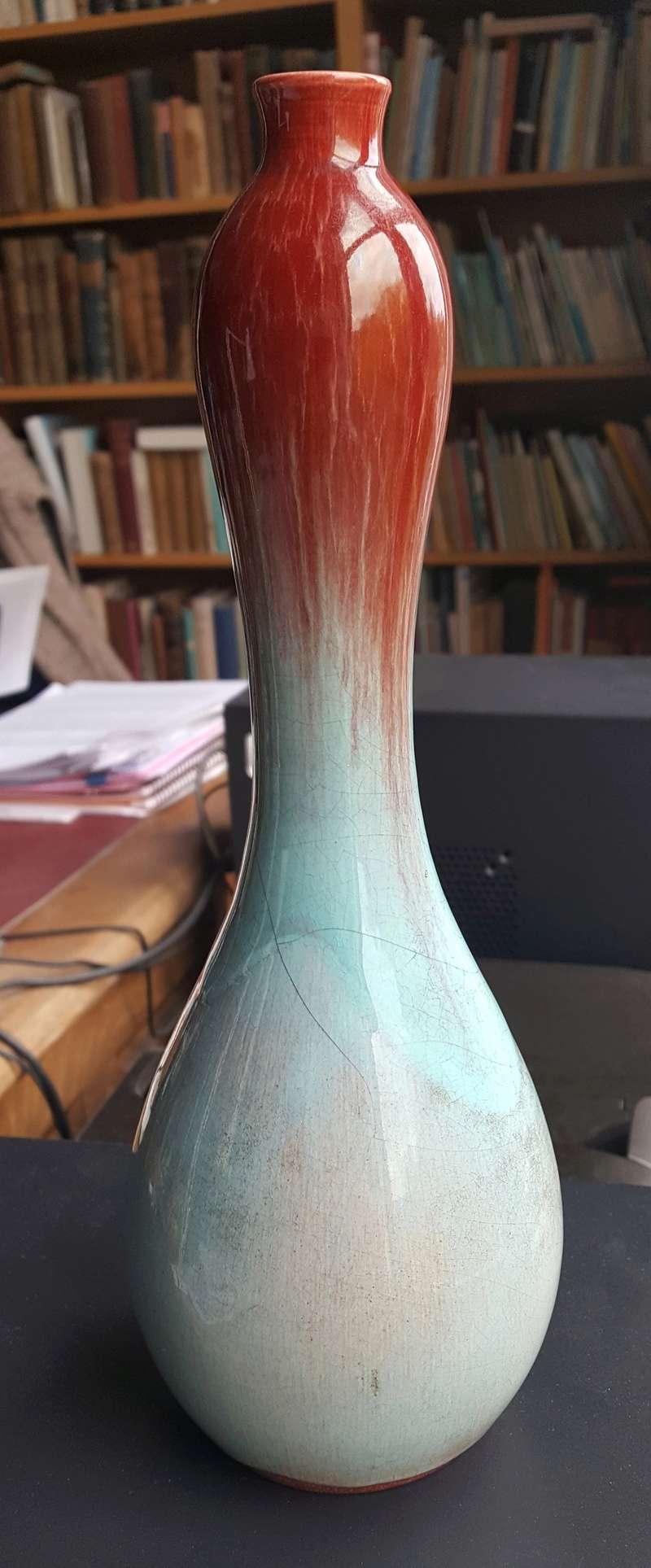 Art Pottery Double Gourd Vase Double14