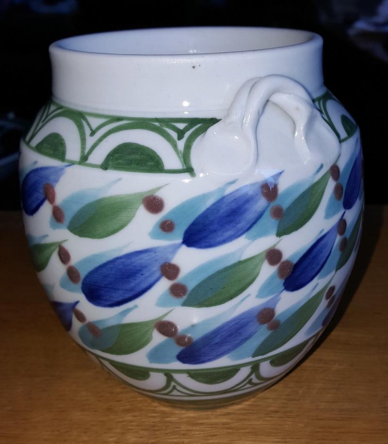 Porcelain tea caddy Tea_ja10