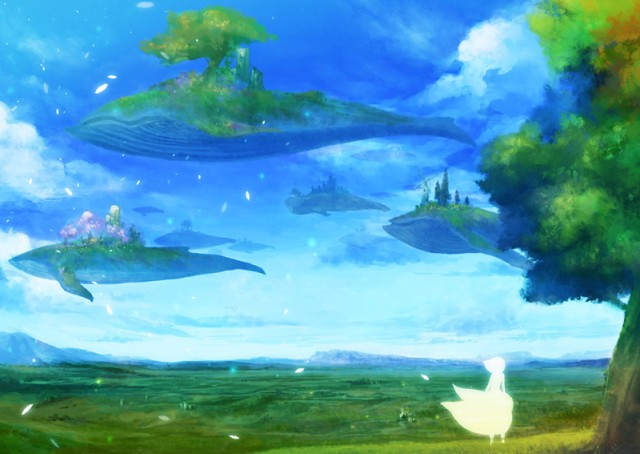 Поселение на парящих китах Aieeza13