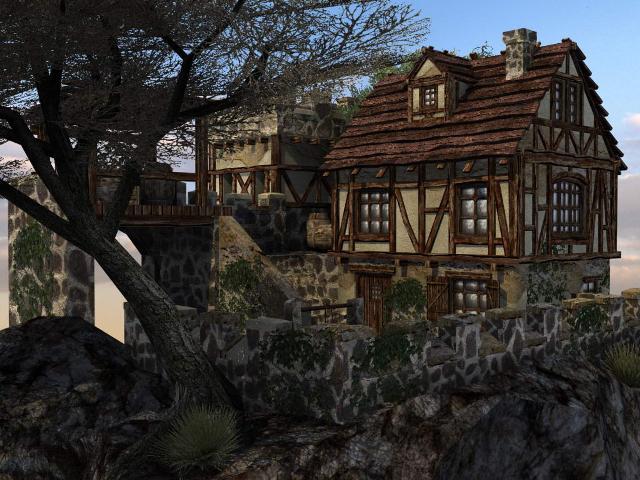Укрепленный дом на краю деревушки Eeezza10
