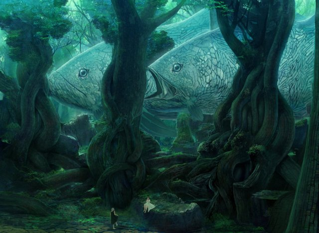Лес в расщелине Ei__ey10