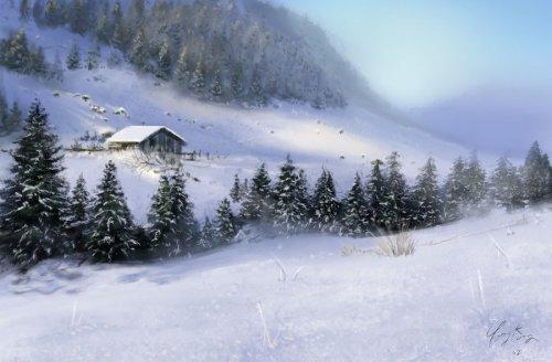 Заснеженная долина Izeezz10