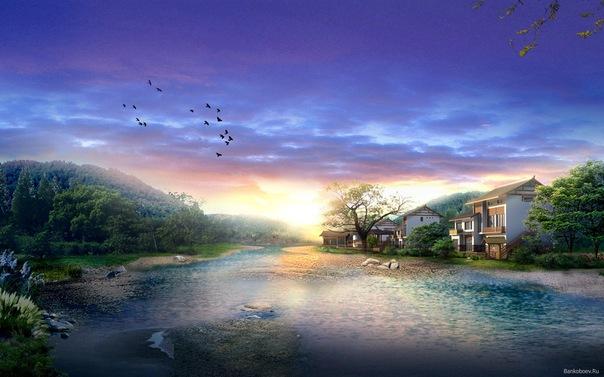Голубая река Oade_e10