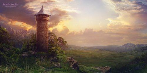Смотровая башня Yaieae10
