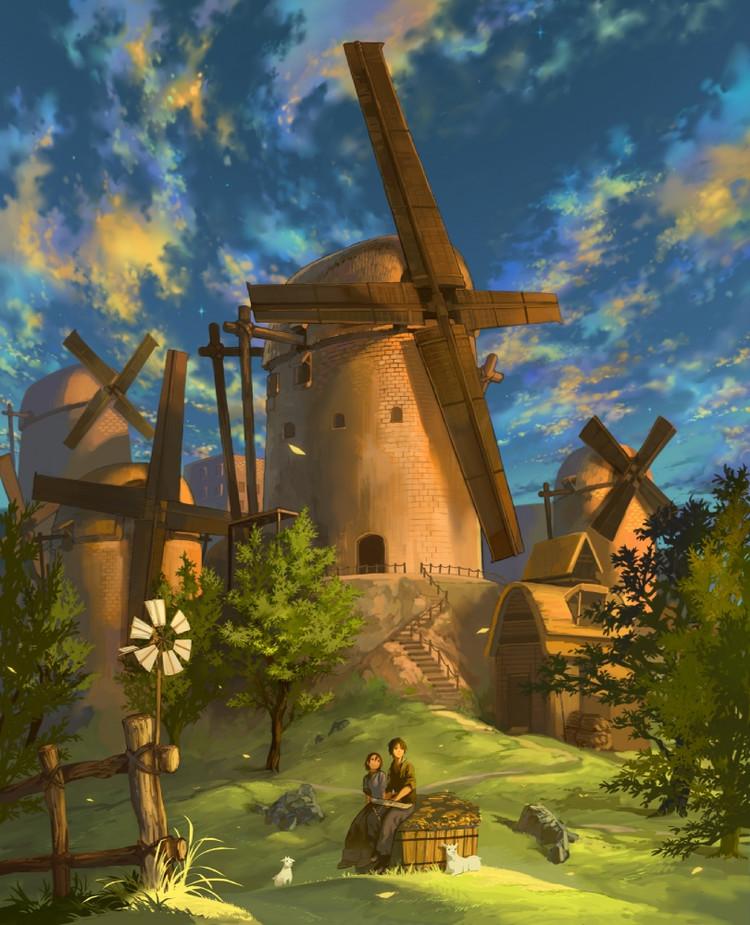 Старые мельницы Yieae_10