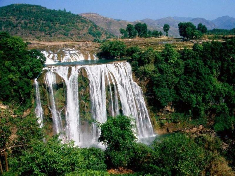 Струнный водопад Yiedzz10