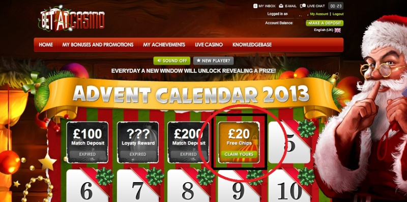BetAt Casino Christmas Calendar - 4th December 2013 Betat_14