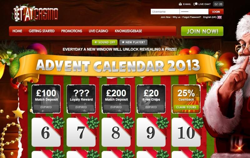 BetAt Casino Christmas Calendar - 5th December 2013 Betat_15