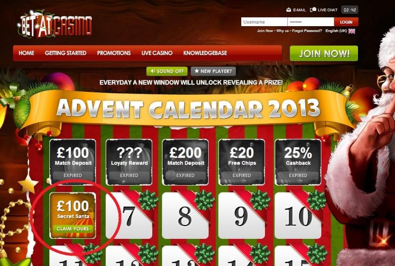 BetAt Casino Christmas Calendar - 6th December 2013 Betat_16