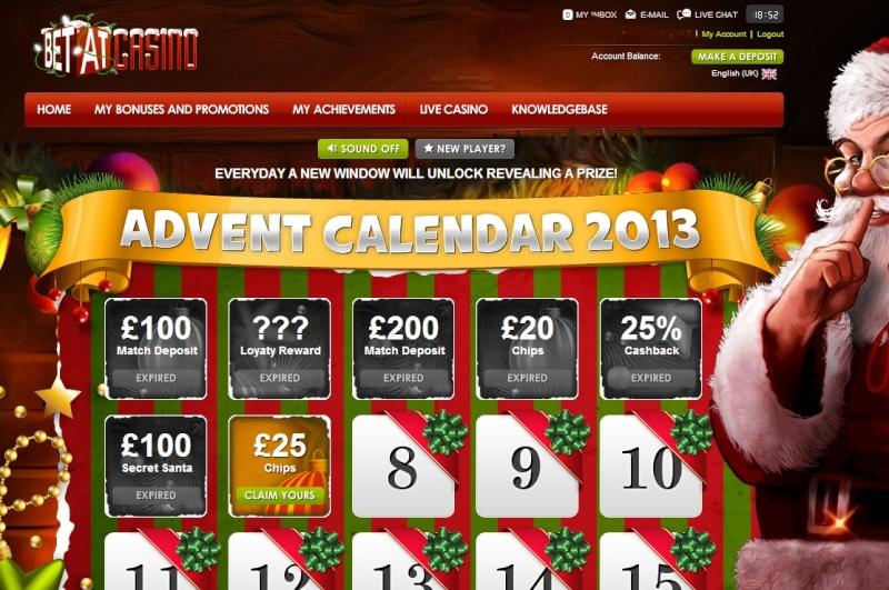 BetAt Casino Christmas Calendar - 7th December 2013 Betat_17