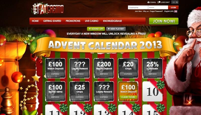 BetAt Casino Christmas Calendar - 9th December 2013 Betat_19
