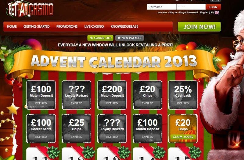 BetAt Casino Christmas Calendar - 10th December 2013 Betat_20
