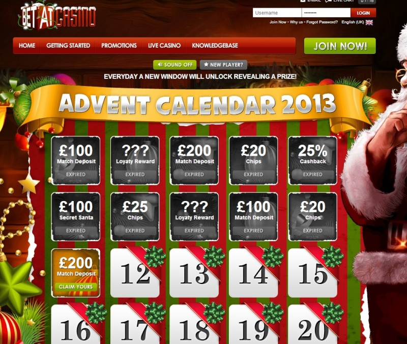BetAt Casino Christmas Calendar - 11th December 2013 Betat_21