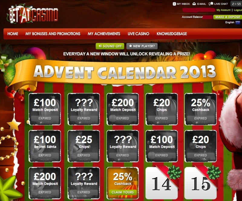 BetAt Casino Christmas Calendar - 13th December 2013 Betat_23