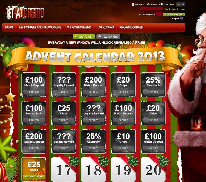 BetAt Casino Christmas Calendar - 16th December 2013 Betat_26