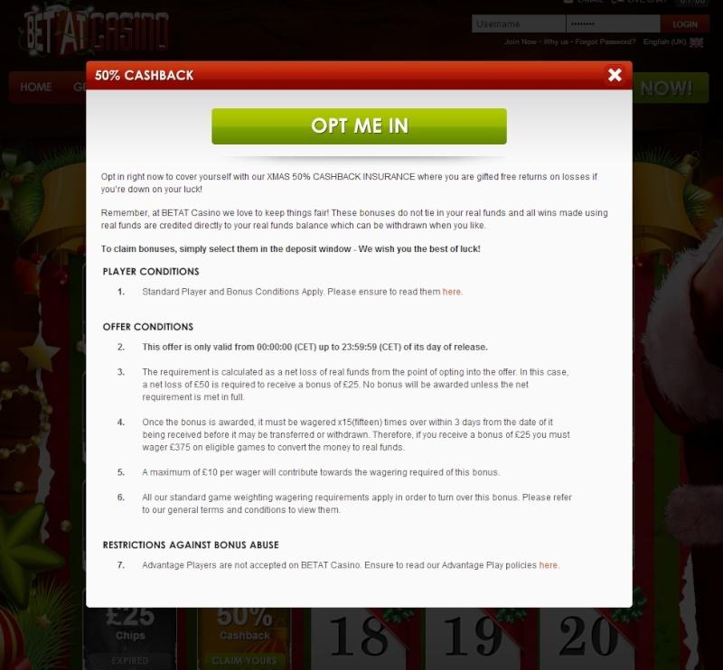 BetAt Casino Christmas Calendar - 17th December 2013 Betat_27