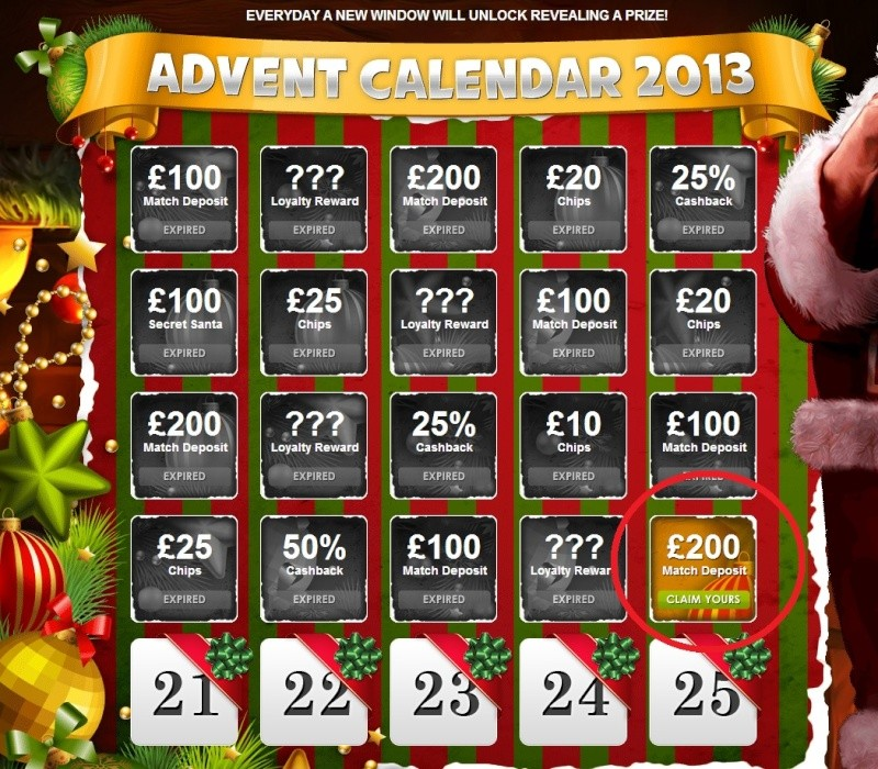 BetAt Casino Christmas Calendar - 20th December 2013 Betat_30