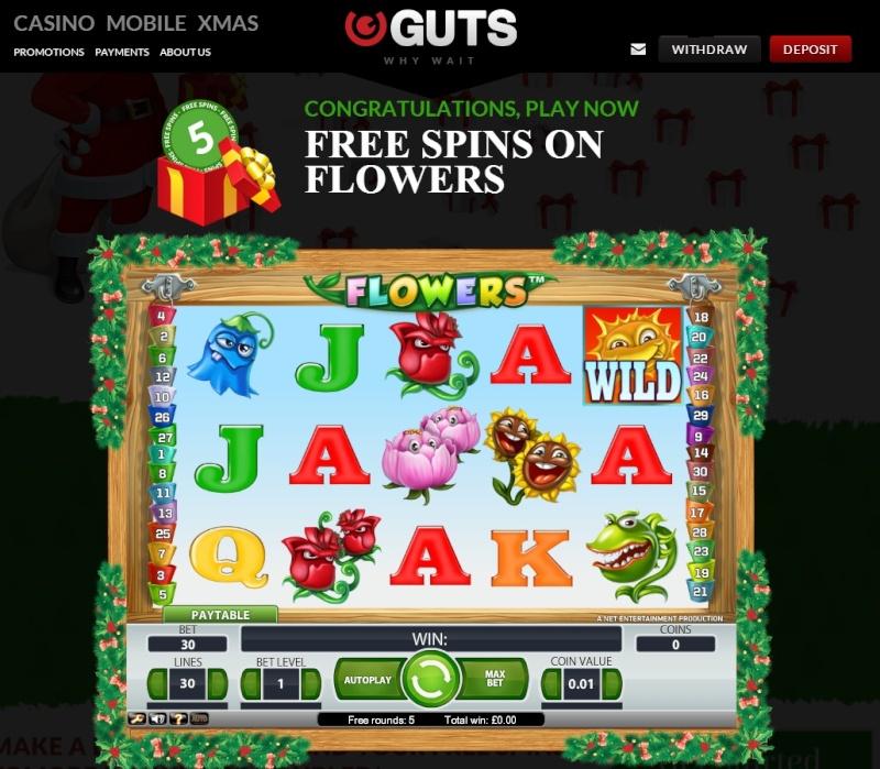 Guts Casino Christmas Calendar - 7th December 2013 Guts_c15