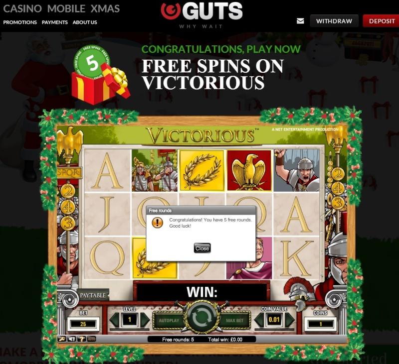 Guts Casino Christmas Calendar - 12th December 2013 Guts_c20