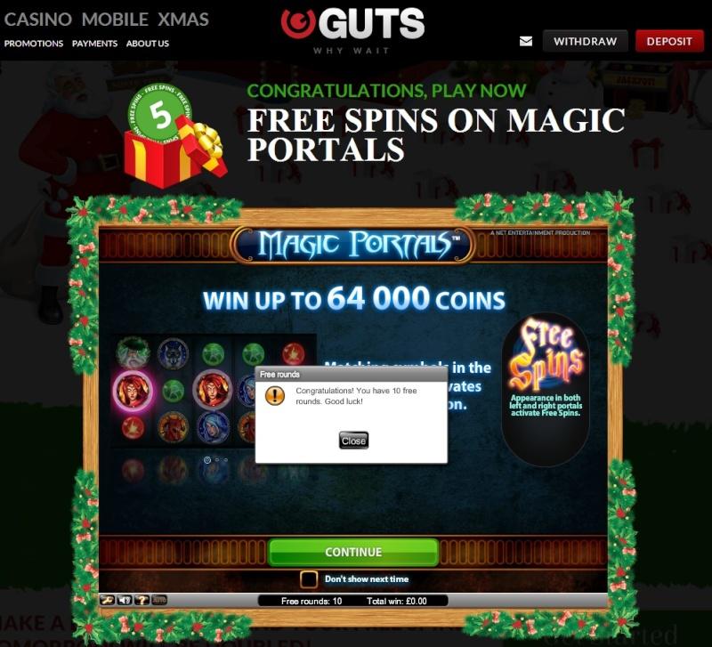 Guts Casino Christmas Calendar - 22nd December 2013 Guts_c29