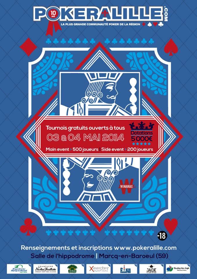 Open Pokeralille le 03 et 04 mai 2014 12361910