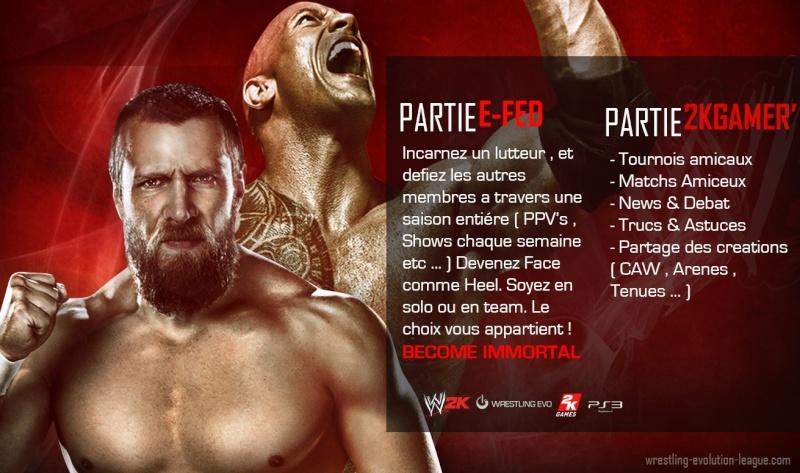 "(PS4/2K16) WrestlingEvo ""Univers Online"" - Saison 9 Daniel10"