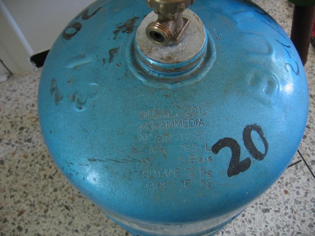 bouteilles de gaz Gaz_ma11