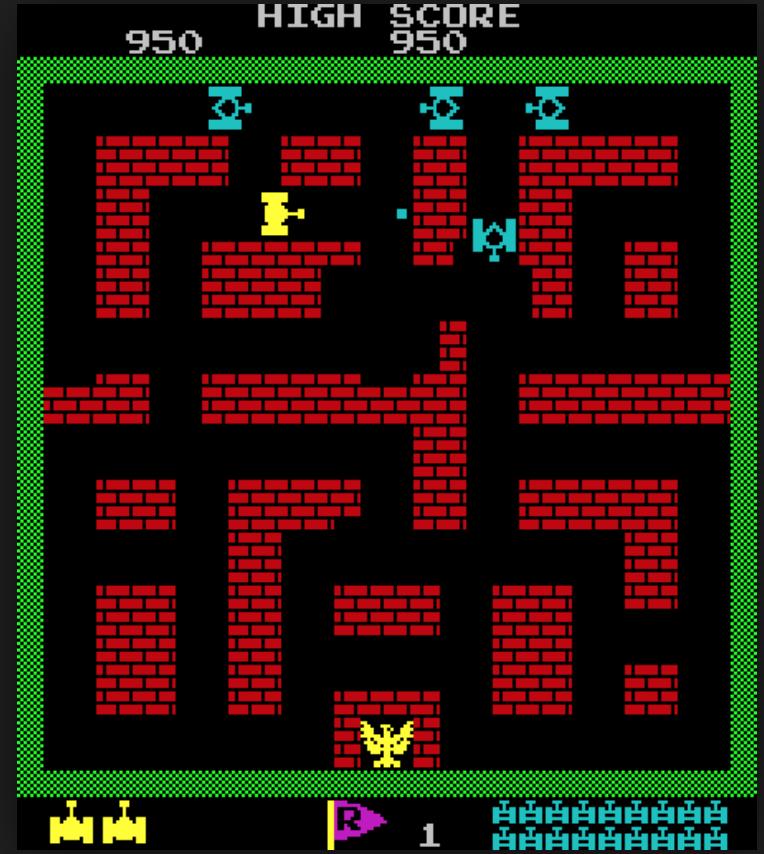 Retro Gaming Tankba10