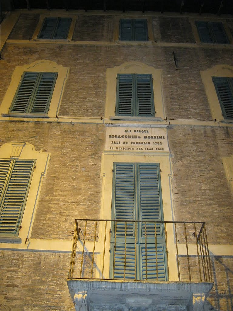 "Musée ""Gioachino Rossini"" à Pessaro en Italie. 93235510"