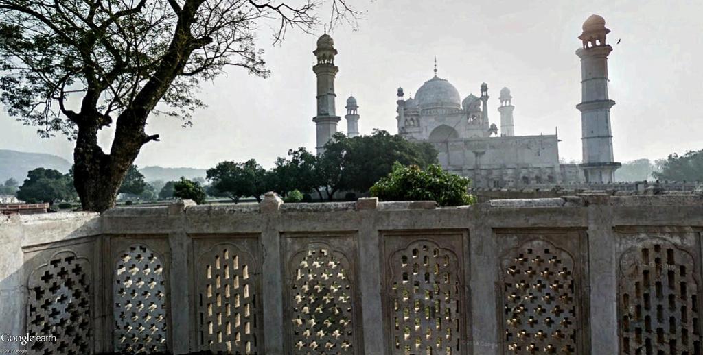 Bibi Ka Maqbara, l'autre Taj Mahal - Aurangabad - Inde Bibi_k10