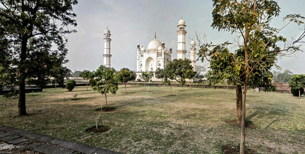 Bibi Ka Maqbara, l'autre Taj Mahal - Aurangabad - Inde Bibi_k12