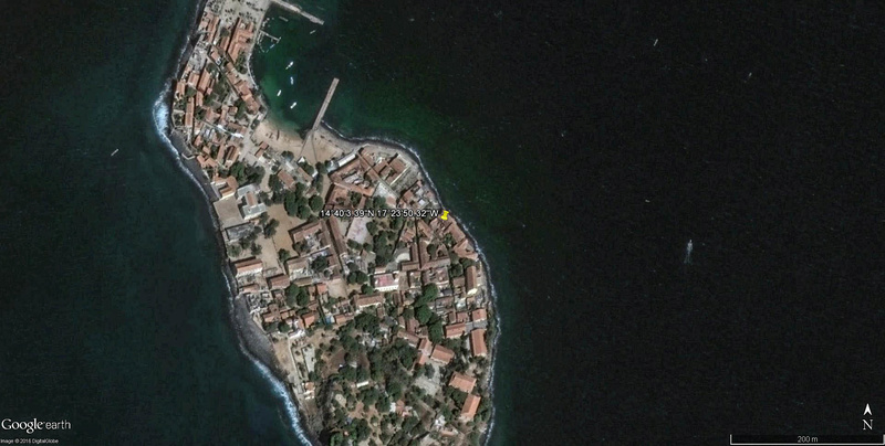 Histoire de la traite des êtres humains à Gorée au Sénégal. Maison10