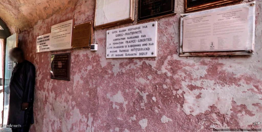 Histoire de la traite des êtres humains à Gorée au Sénégal. Maison12