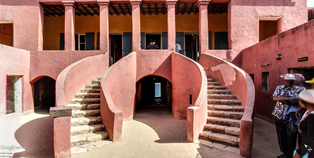 Histoire de la traite des êtres humains à Gorée au Sénégal. Maison13