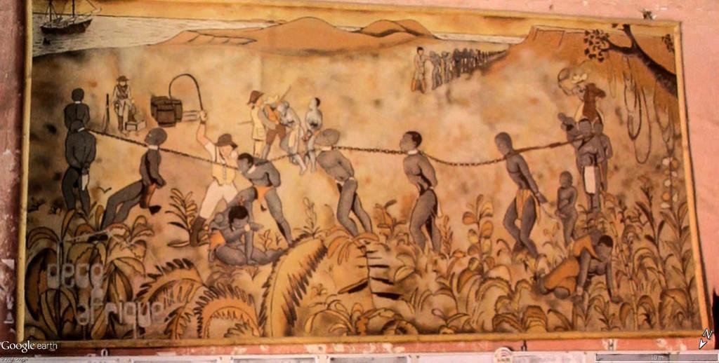 Histoire de la traite des êtres humains à Gorée au Sénégal. Maison15
