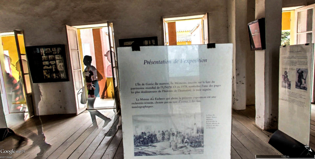Histoire de la traite des êtres humains à Gorée au Sénégal. Maison16