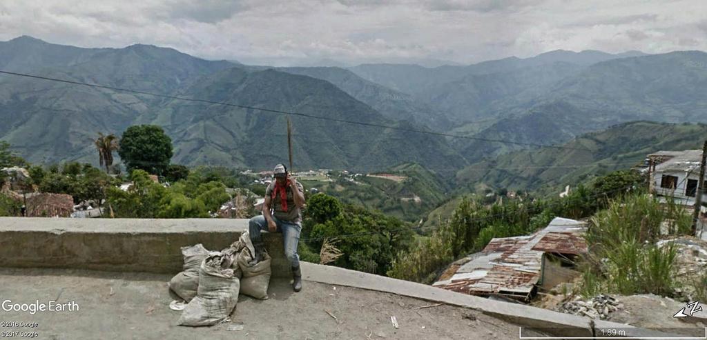 L'or de Marmato dans le département de Caldas en Colombie. Marmat17